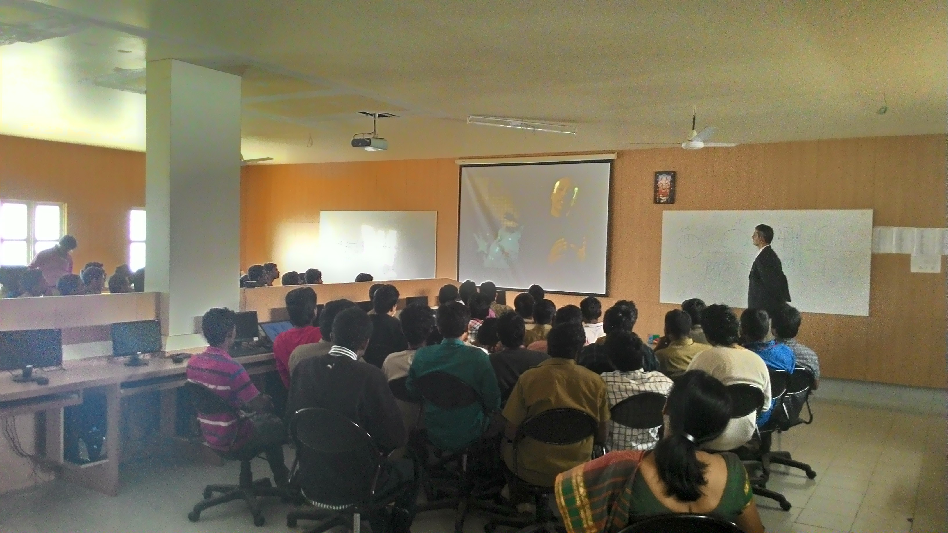 Creo for Design Engineers (ProE) Seminar at East Point college of engineering Bangalore